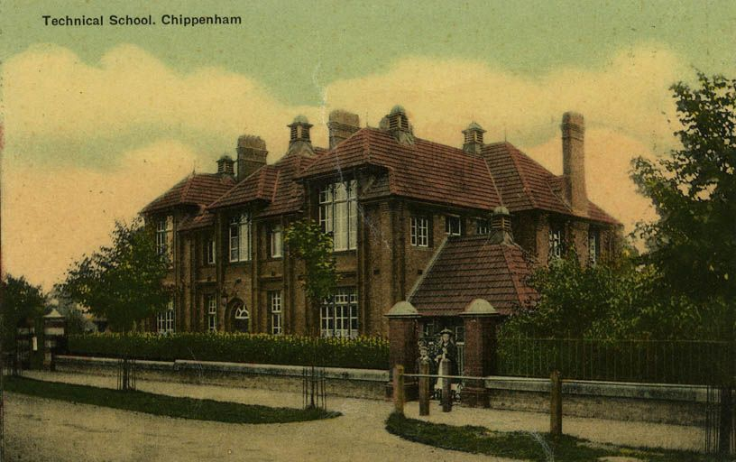 Chippenham School Postcard 2