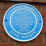 John Coles was at one time  Chemist, Grocer, Mayor, Promoter of Secondary Education  and Benefactor.  John Coles ran his business from a shop on the corner of the Market Place which he opened in the 1870s. John Coles Park was named after him.