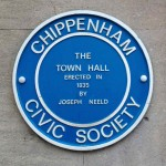 The Town Hall was designed by James Thompson and built by Joseph Neeld at a cost of £12000